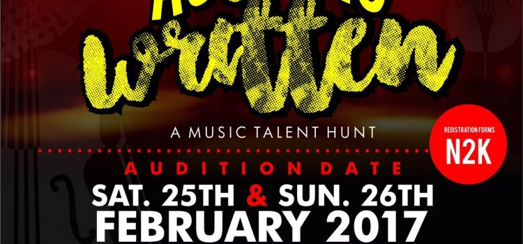 RATATATAINMENT CONCEPTS AUDITION FORM