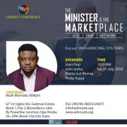 EVENT: THE MINISTER AND THE MARKET PLACE