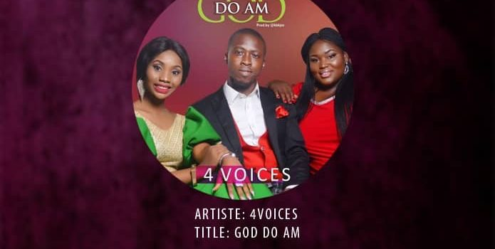 [MUSIC] God Do Am By 4Voices @thegospelvoice