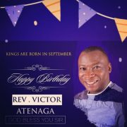 [NEWS] CELEBRATING FATHER – REV. VICTOR ATENAGA | @atenagavictor
