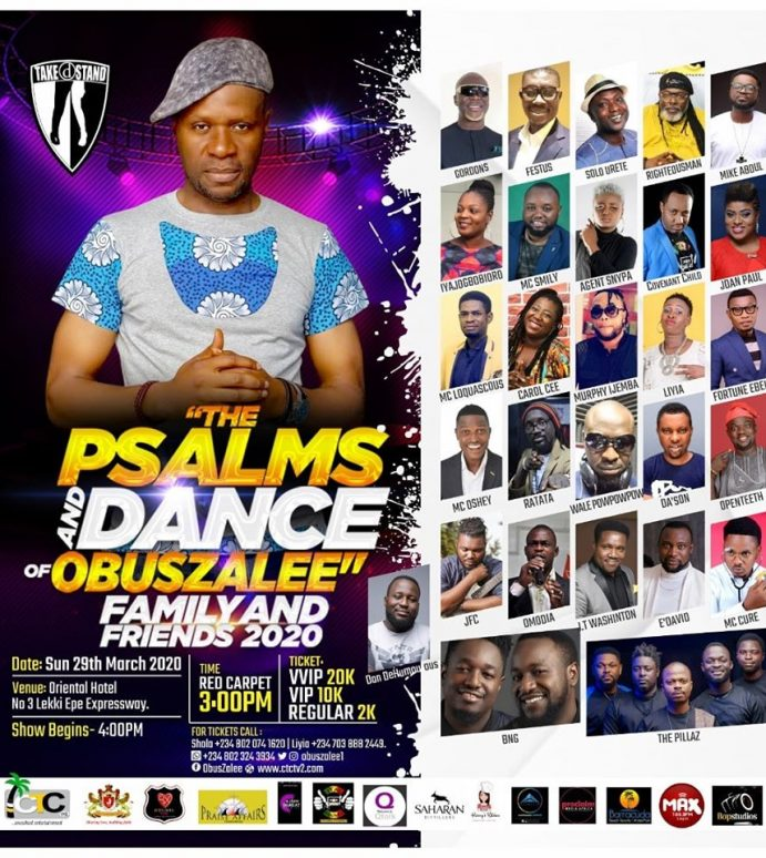 [EVENT] The PSALMS And DANCE Of OBUS ZALEE | @obuszalee1.