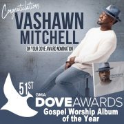 [#ProclaimNews] Vashawn Mitchell nominated for the 51st DOVE AWARDS.