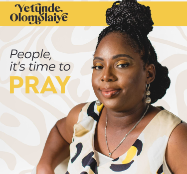 [MUSIC] Yetunde Olomolaiye – People, It's Time to Pray