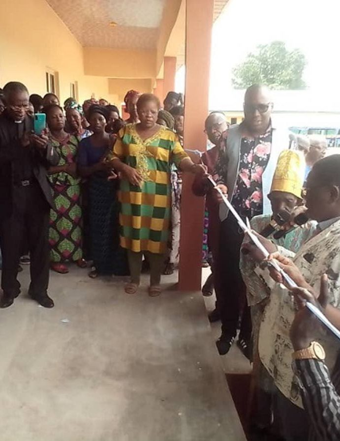 Archbishop Margaret Idahosa immortalises Papa Idahosa with blocks of classrooms in Uzea community