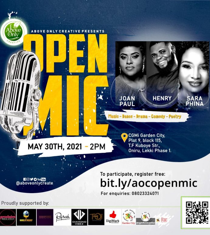 [Event] Open Mic – Powered by CGMi Global